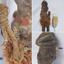 REGAL Bayaka Yaka Nkisi Magic Figure Sculpture Statue Mask Tribal African Art