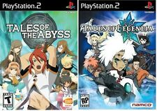 Tales of the Abyss & Tales of Legendia - Dual Pack [PlayStation 2 PS2, JRPG] NEW