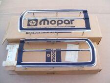 1976 1977 Plymouth Volare Custom Premier NOS MoPar RH LH TAIL LAMP BEZEL Pair