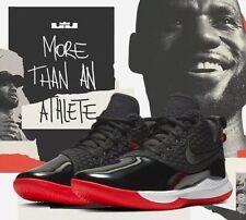 Nike LeBron Witness III PRM BQ9819-001 Black/White/Red UK 14 EU 49.5 US 15 New