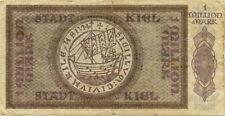 Germany 1.000.000 Mark 1923 Kiel No084439