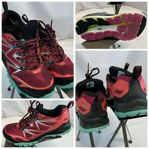 Merrell Hiking Shoes Sz 8 Women Red Waterproof Running Shoes LNWOT YGI C0S-73