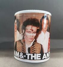 More details for adam and the ants pop group ceramic gift mug. 70's 80's pop.