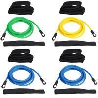 Adjustable Swim Training Resistance Belt Swimming Exerciser Safety Rope A#S