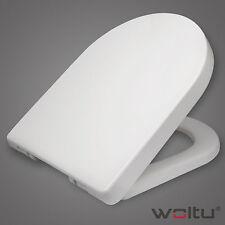 WC Sitz Toilettendeckel Kunststoff Absenkautomatik Toilettensitz Deckel Ws2543