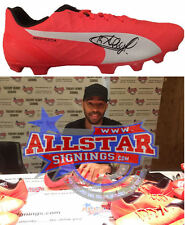 THIERRY HENRY ARSENAL LEGEND SIGNED FOOTBALL BOOT WITH PROOF ALLSTARS EXCLUSIVE
