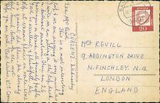 """Mrs Revill. 9 Addington Drive, Finchley, London """" K E Coone""""    QW.402"""