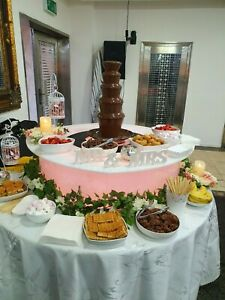 5 Tier Chocolate Fountain Hire Nationwide Weddings Corporate Events