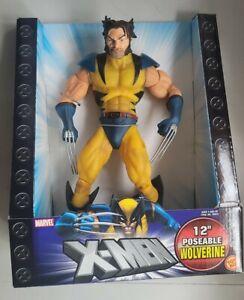 "NEW TOYBIZ X-MEN 12"" POSEABLE WOLVERINE UNMASKED VARIANT ACTION FIGURE!"