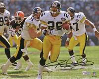 "Rod Woodson Pittsburgh Steelers Autographed 8"" x 10"" Running Photograph"