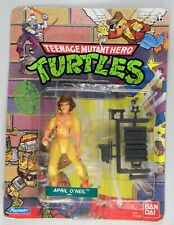 Playmates Toys TMNT Teenage Mutant Ninja Turtles  April no press rare card