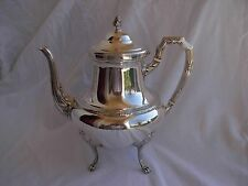 ANTIQUE FRENCH STERLING SILVER TEA POT,LOUIS XVI STYLE,EARLY XX CENTURY