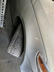 2009-2012 VW VOLKSWAGEN CC PASSENGER RIGHT FENDER WHITE GOLD