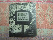 Ronis ( Willy ) Mac Orlan ( Pierre ) Belleville Ménilmontant. Arthaud. 1954