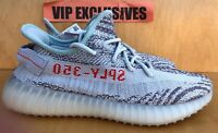 Adidas Yeezy Boost 350 V2 Blue Tint Grey Red B37571 SPLY 100% AUTHENTIC
