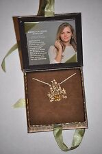 Disney D23 Exclusive REBECCA HOOK SILVER SLEEPING BEAUTY CASTLE Necklace LE 75