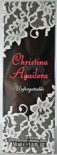 Christina Aguilera Unforgettable  50ml EDP Eau de Parfum Spray