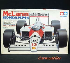 Tamiya 1:20 scale McLaren MP4/4 kit #20022 - new- open box but sealed parts bags