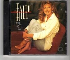 (HK610) Faith Hill, Take Me As I Am - 1993 CD