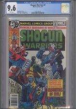 Shogun Warriors #2 CGC 9.6  1979 Comic: 8 Years  Before Transformers! New Frame