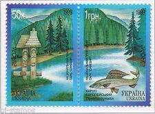 1999 Oekraïne 302-303 Europa CEPT Nationale parken