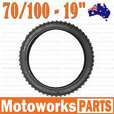 "70/100- 19"" Inch Front Knobby Tire 150cc 160cc 250cc BIGFOOT PIT TRAIL Dirt Bike"