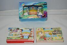 GBA mirumo de pon games 3pcs w/card & sticker Japan Nintendo Game boy Advance