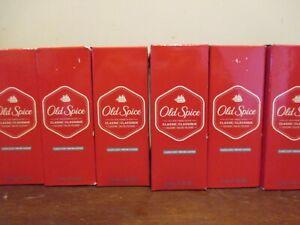 Lot of 6 Old Spice Classic Scent COLOGNE 2.5 oz Men's Fragrance Eau de Cologne
