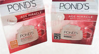 SET OF PONDS AGE MIRACLE DEEP ACTION DAY AND NIGHT CREAM CELL REGEN 2 X 10 g.