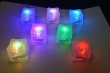Disney Beverage Glow Cubes, changes 7 different colors with a rainbow setting.