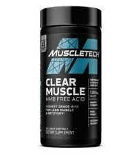 Clear Muscle - Muscle & Strength Builder - 4-Week Supply (84 Liquid Caps)