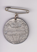 Rare Coronation Medal George VI And Queen Elizabeth 12th May 1937.32MM..S.54