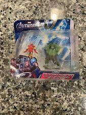 Marvel The Avengers Iron Man And The Hulk Collectible Action Figures Set