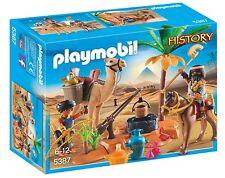 PEPYPLAYS PLAYMOBIL HISTORY CAMPAMENTO EGIPCIO 5387 CAJA NUEVA