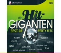 DIE HIT GIGANTEN BEST OF PARTY pink, DjÖtzi, Nena, Scooter 3 CD NEU
