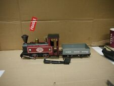 Mamod Live Steam Railway Engine SL3 in Maroon Red never used with open wagon