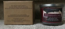 Home Fragrance Collection *Red Velvet Cake* 3-Wick Candle New In Box+Rare