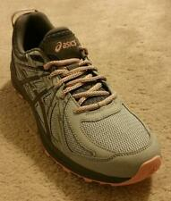 ASICS Women's Frequent Trail Casual Running Shoes  Mid Grey/Carbon  USA Size 8.5
