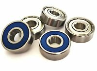 608 2rs 608 zz [8x22x7] HIGH PERFORMANCE BEARINGS CHROME or STAINLESS  UK SELLER