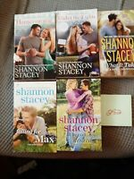 LOT#252 - 5 - CONTEMPORARY ROMANCES BY SHANNON STACEY - FREE SHIPPING