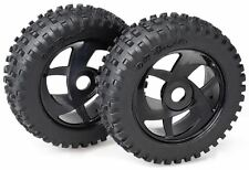 Absima 2520014 Räderset Buggy Harakiri 6 Speichen/Dirt schwarz 1:8 - 120 x 40 mm