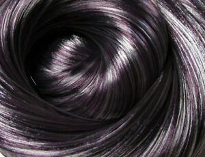 COSMIC DANCER Silver-Purple Synatra Fiber Doll Hair for Custom Reroots