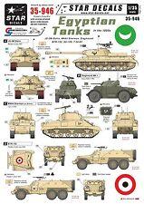 Star Decals 1/35 Egyptian Tanks (pt1)1950s BTR152 M4A4 T34-85 JS-3m Stalin 35946