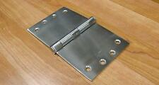 WIDE THROW HINGES SOLID STAINLESS STEEL 3.5mm THICK 100X150mm