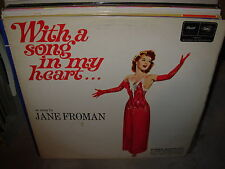 JANE FROMAN with a song in my heart ( world music )