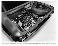 1961 Chevrolet Corvair Engine Factory Photo m2157-BZ79WM