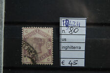 FRANCOBOLLI INGHILTERRA USATI N°80 (F9424)