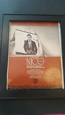 Nico Ramsden Growing Up Rare Original Promo Poster Ad Framed!
