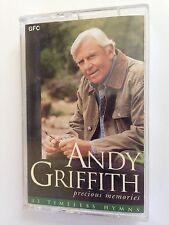 Andy Griffith; Precious Memories Cassette Tape 33 Timeless Hymns
