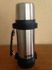 Genuine THERMOS brand 1 litre insulated stainless steel thermos - EXCELLENT cond
